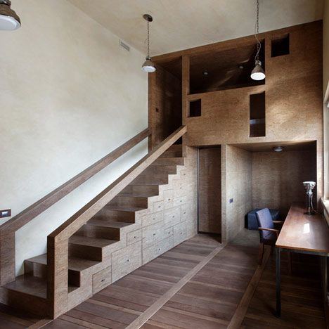 Duplex Apartment Moscow designed by Peter Kostelov | Architecture ...