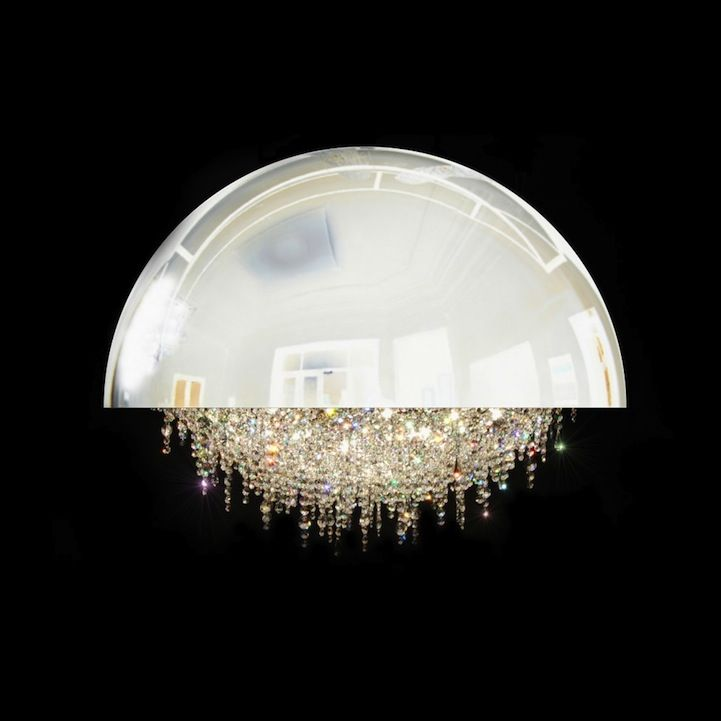 Magnificent Chandelier with Gittering Suspended Crystals Luces - lamparas de techo modernas