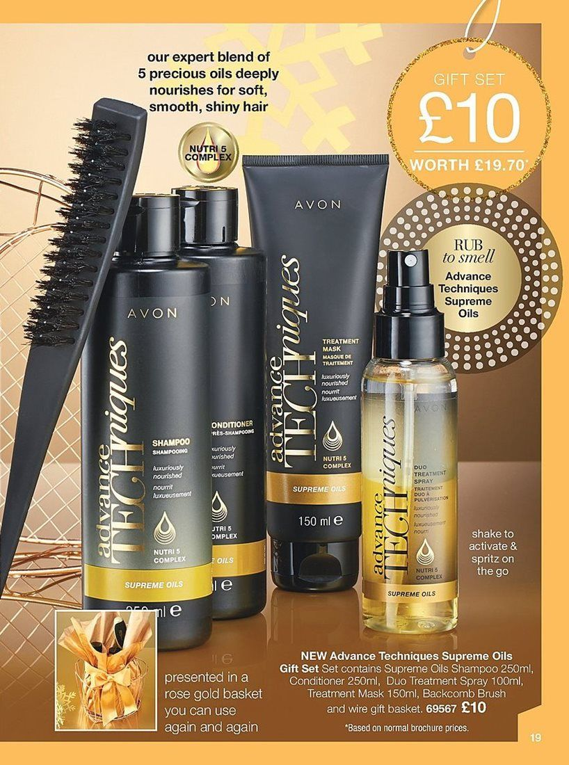 8a2901ef6b47b A complete hair care gift set for £10!  avon  haircare  gift Online ...