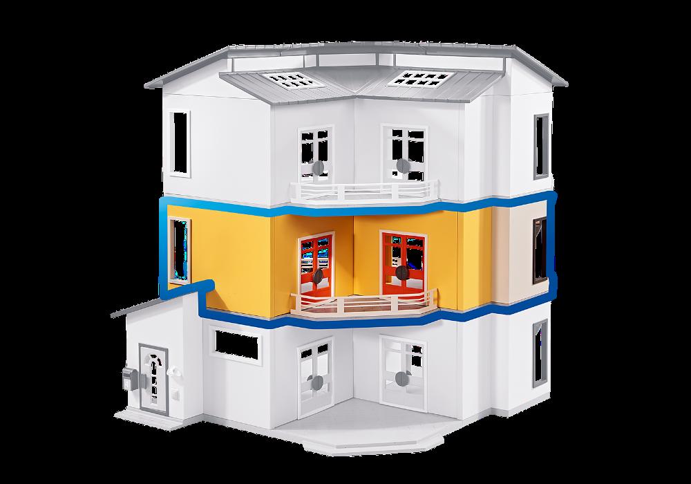 Playmobil 6554 Etage Supplementaire Pour Maison Moderne Maisons De Poupees Poupees Et Accessoires