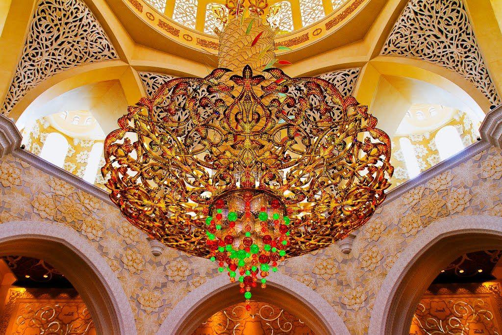 Exterior: Sheikh Zayed Grand Mosque Chandelier