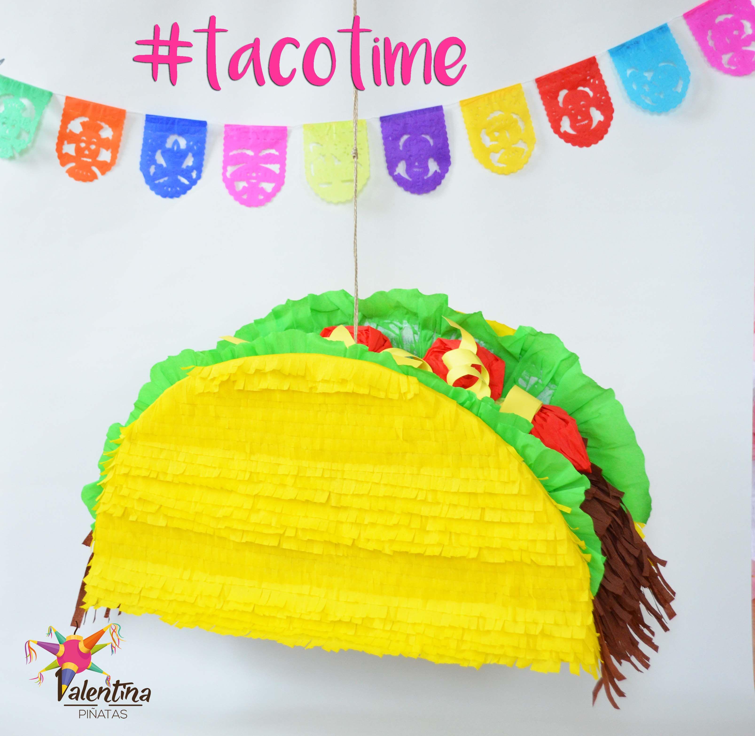 Taco Piñata -  Valentina Piñatas ♥ Ihr kreatives Team mit frischen Ideen. Die schönsten Piñatas in Deutschland! In DE handgemacht mir einer fairen und umweltbewusste Herstellung!