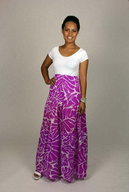 Print Pattern Hawaiian Tribal Hula
