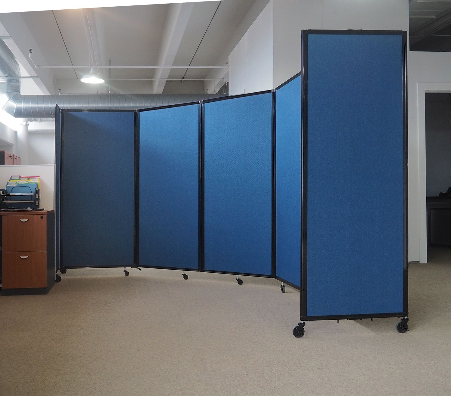 Check out this C shape 5 panel Room Divider 360 from Versare