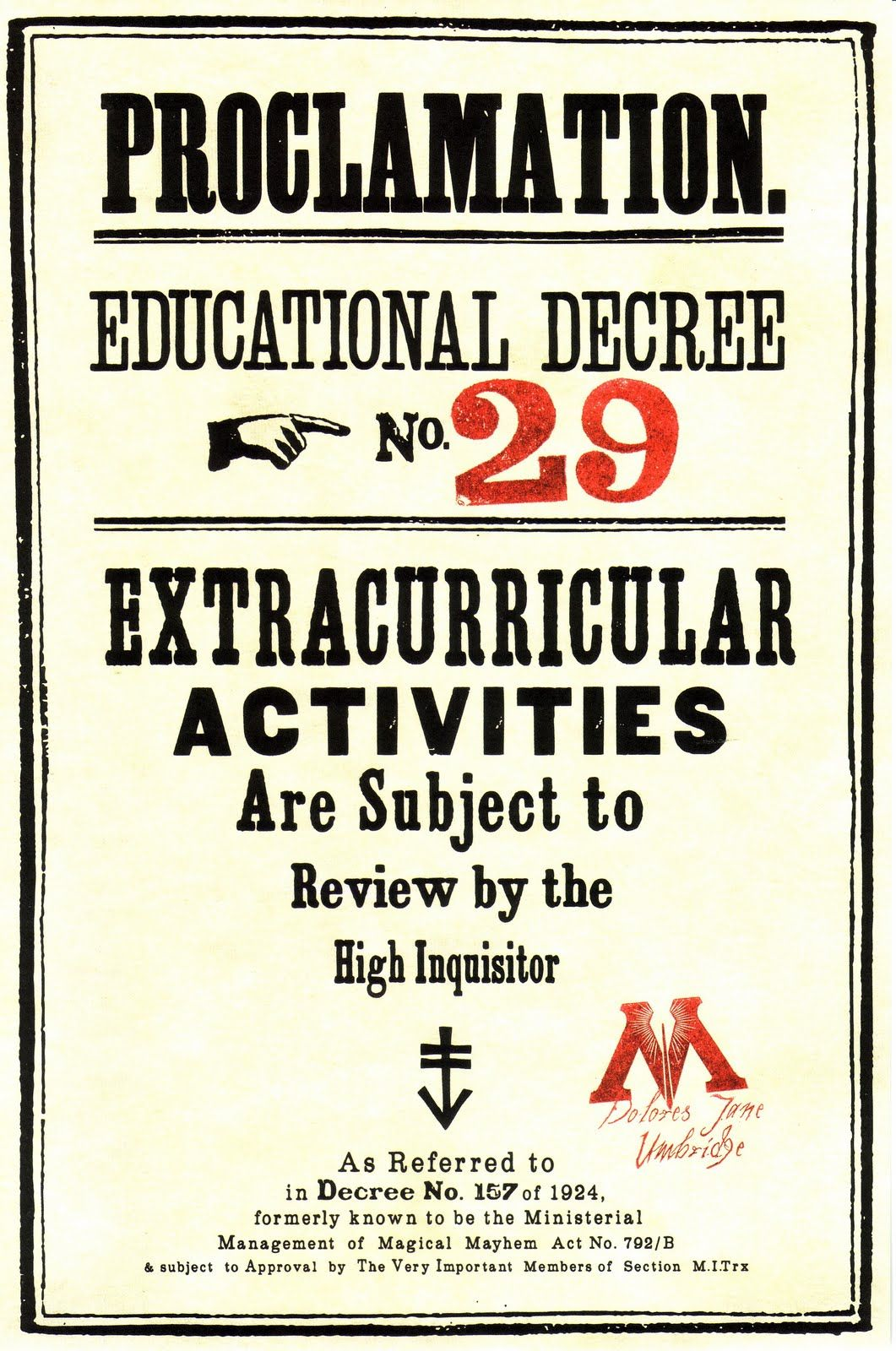 Educational Decree- cool graphics. Probably the only good in ...