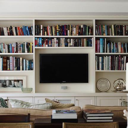 C mo integrar con dise o la tv en el living en 2019 for Disenos de modulares para living