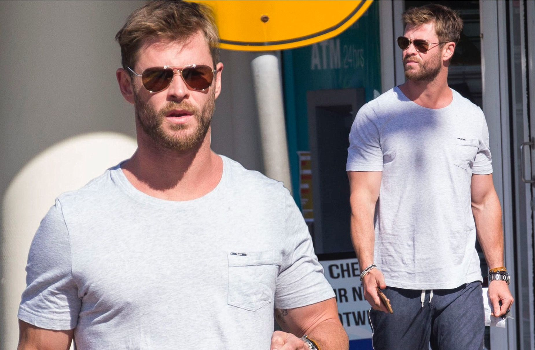 Um um Chris hemsworth