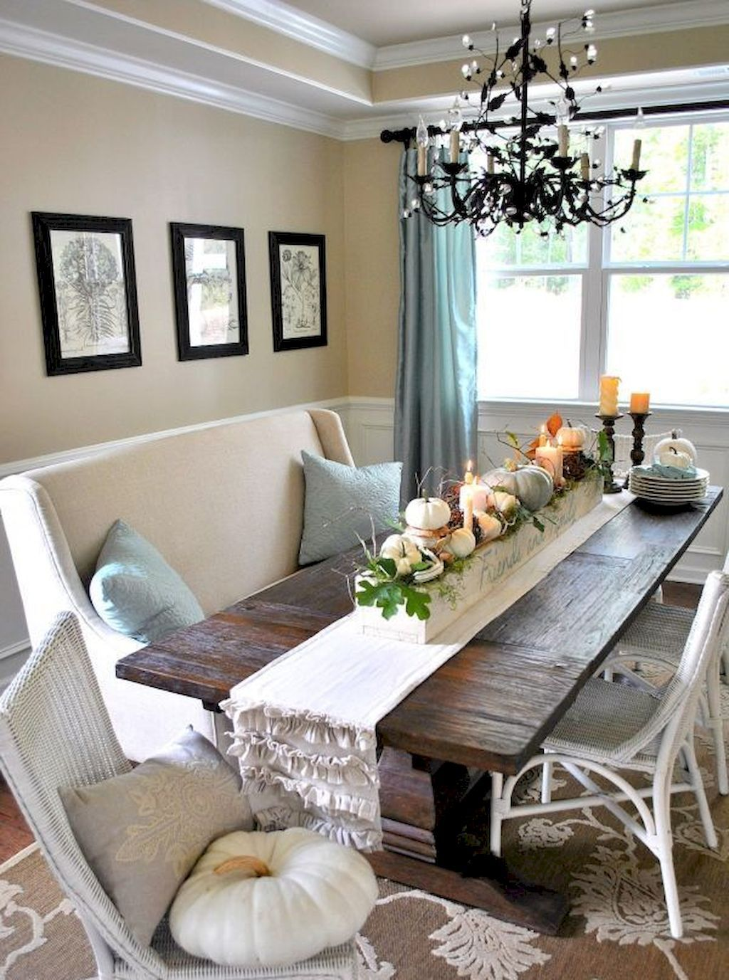 Peachy 60 Fantastic Farmhouse Dining Room Design Ideas Design Gmtry Best Dining Table And Chair Ideas Images Gmtryco