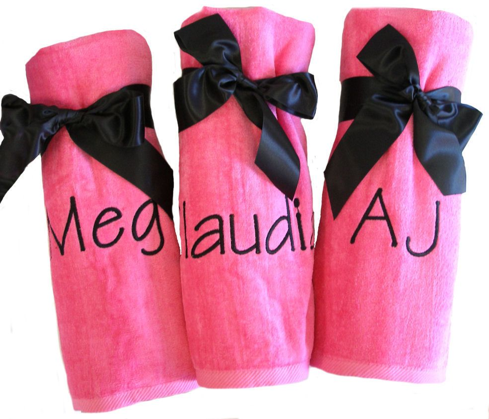 Personalized Beach Towel Makes A Great Personalized Gift