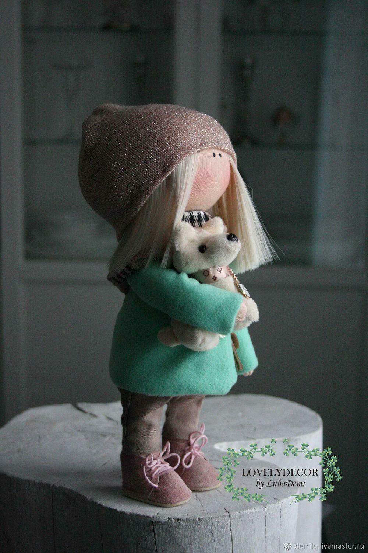 Коллекционные куклы ручной работы. Заказать Кукла интерьерная текстильная