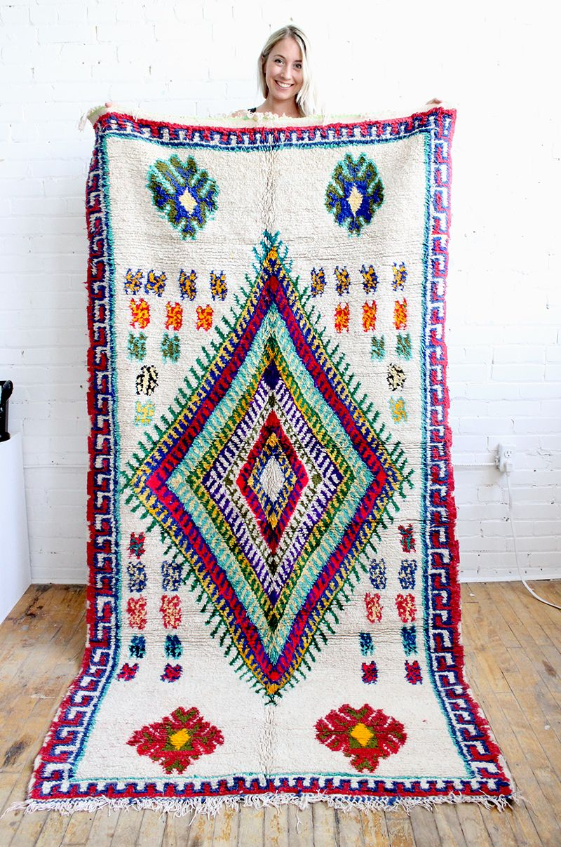 85 Stunning Bohemian Style Interior Design Ideas For Your: Stunning Bohemian Rug! Azilal Moroccan Rug From Baba Souk