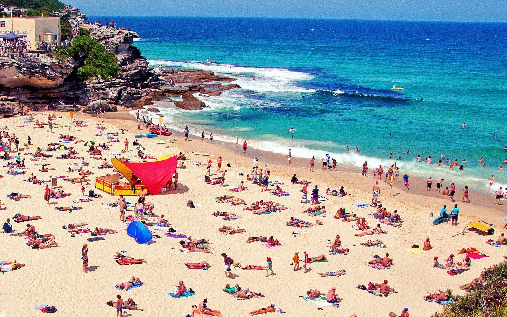 прогуливались куда фото австралийского пляжа разговор сырных супах