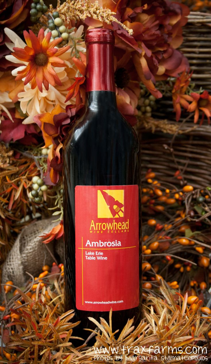 Local PA Ambrosia wine from Arrowhead Wine Cellars available at Trax Farms. & Local PA Ambrosia wine from Arrowhead Wine Cellars available at Trax ...