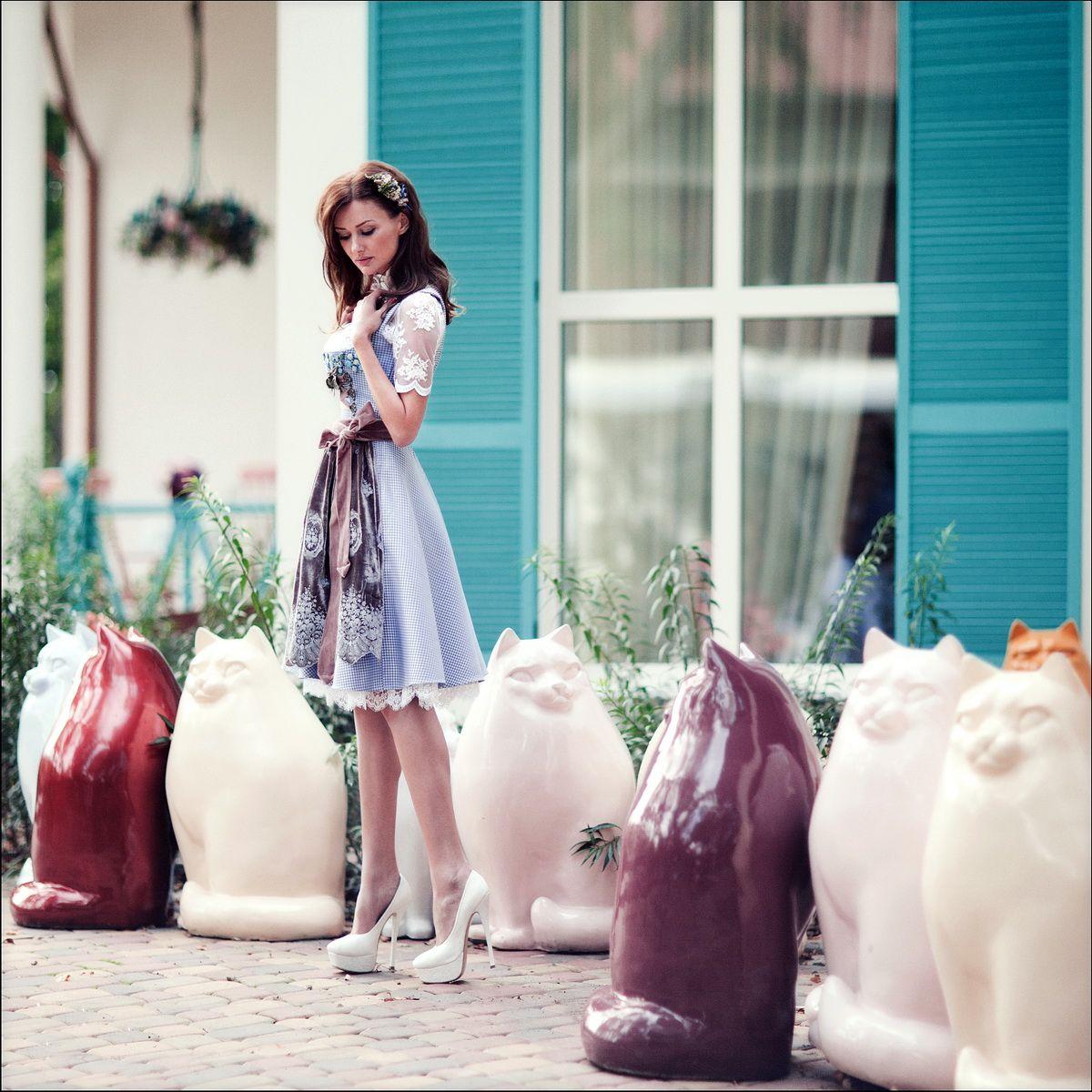 Edelweiss München Luxus Dirndl  | S♥