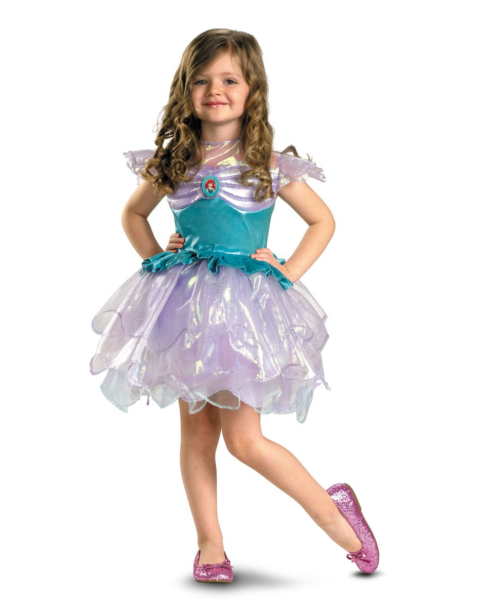 Disney Princess Ariel Ballerina Toddler Costume – Spirit Halloween ...