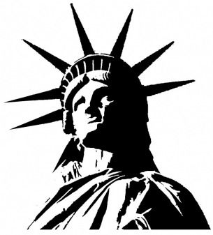 statue of liberty clip art statue of liberty misc pinterest rh pinterest com statue of liberty clip art free statue of liberty clip art black and white