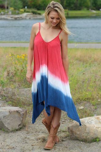 Tye dye Pride Dress