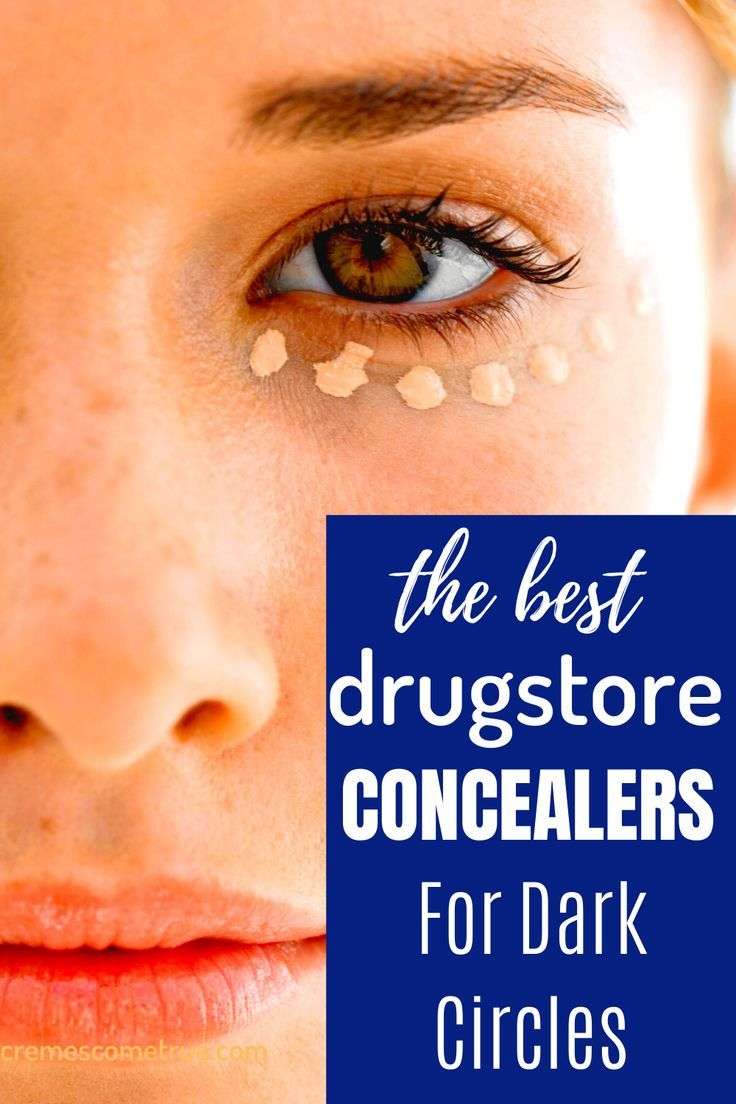 The Best Drugstore Concealers For Dark Circles #darkcircle