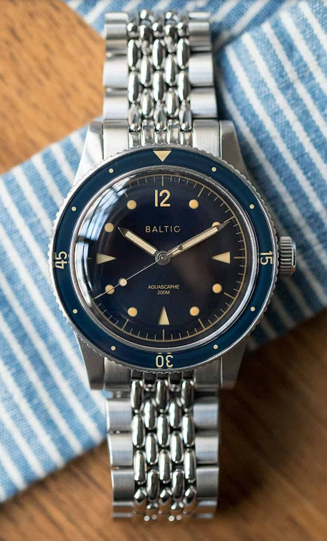 ae4d1105ca7 Baltic Aquascaphe - automatic Miyota 9039 - 38x47mm