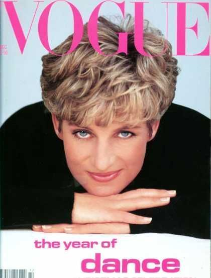 Princess Diana Vogue Magazine United States December 1991 Princess Diana Fashion Diana Princess Diana