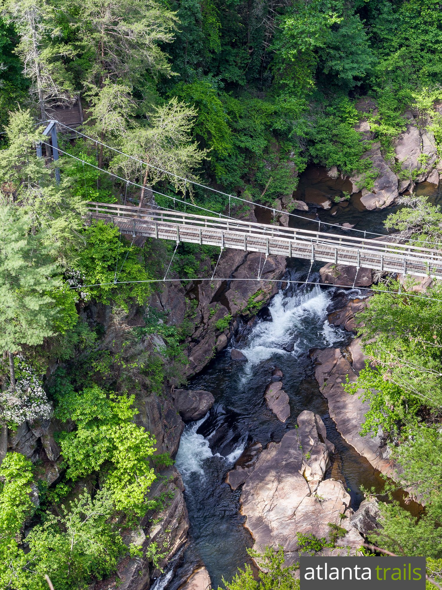 Hiking the Sliding Rock Trail at Tallulah Gorge State Park in Georgia e074155125a3d
