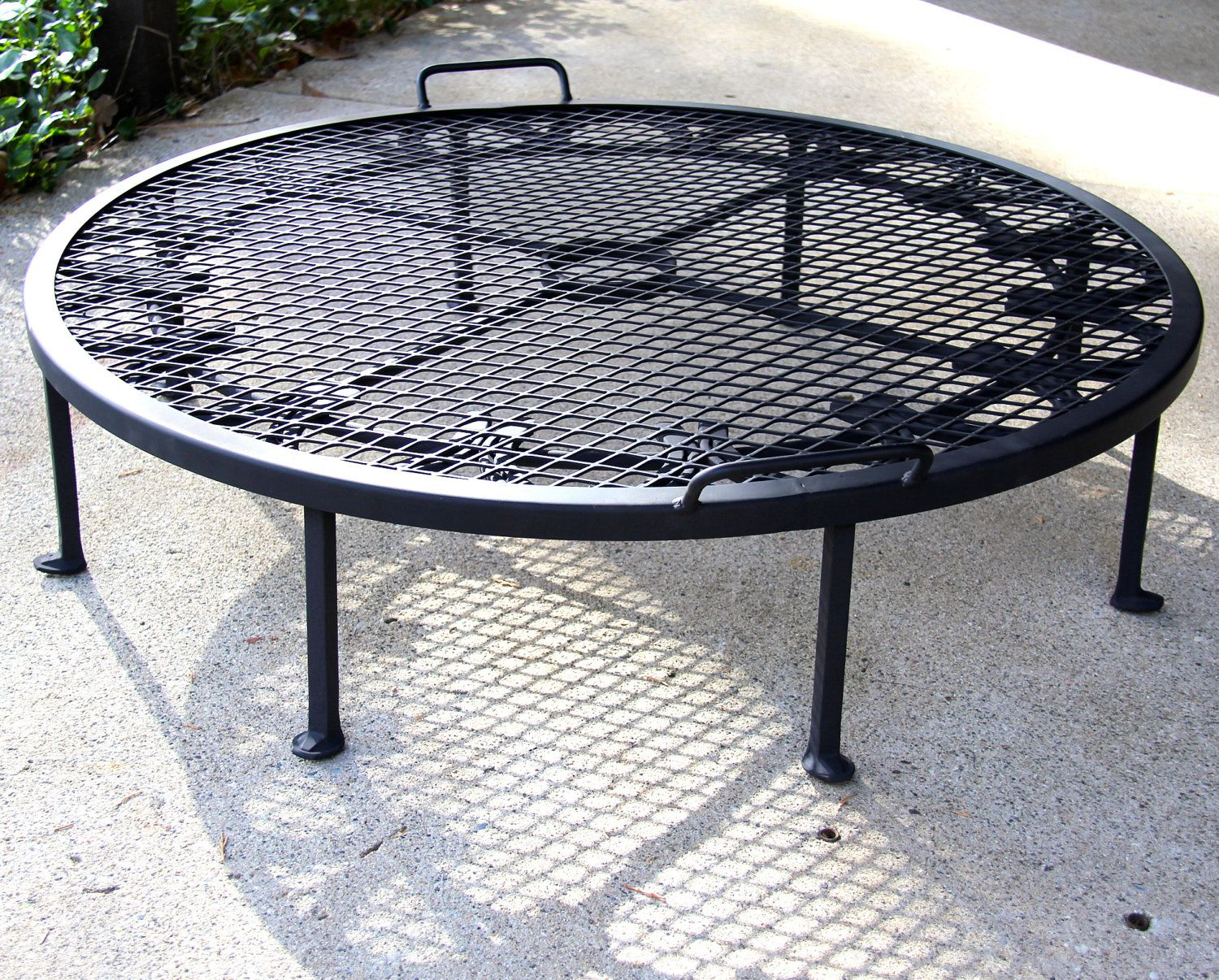 Custom Firepit Bbq Grill Stand Fire Ring Fire Pit Stand Outdoor Fire Pit Fire Pit Backyard