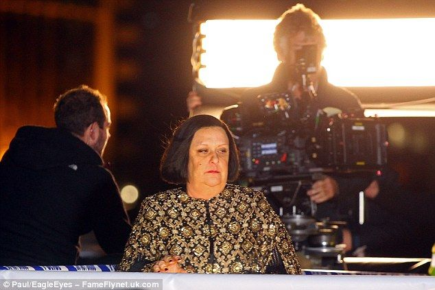 Jennifer Saunders And Jane Horrocks Film Absolutely Fabulous Movie
