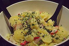 Schneller Kartoffelsalat ohne Mayo