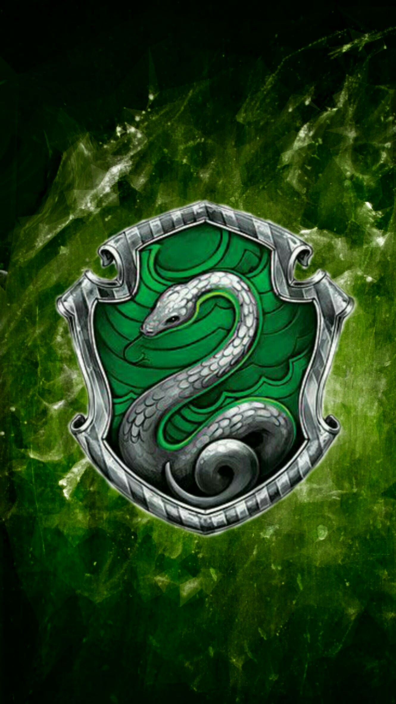 Slytherin wallpaper Sonserina, Harry potter itens e