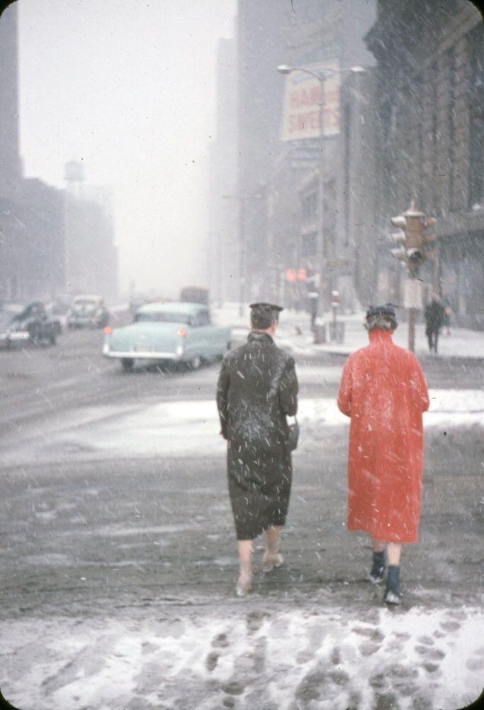Snowy Chicago, 1956