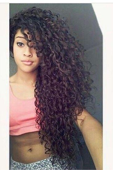 Super Long Hair Cabelo Cabelo Cacheado Comprido Meninas Com Cabelo Encaracolado