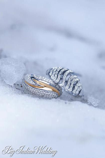 Tanishq Wedding ring collection Wedding Rings Pinterest Ring