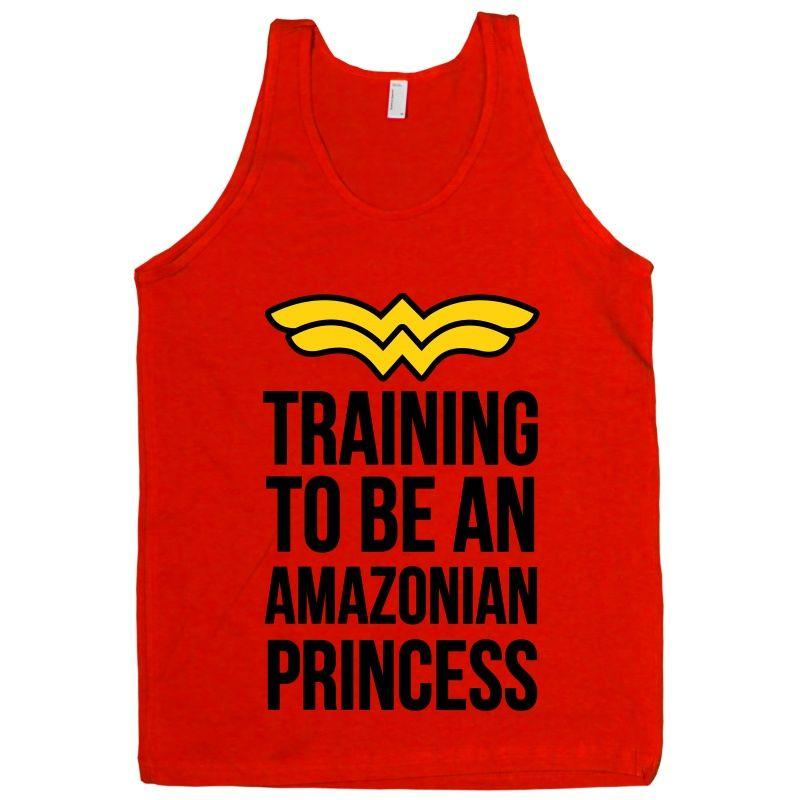 9080ece2e Training to be an Amazonian Princess