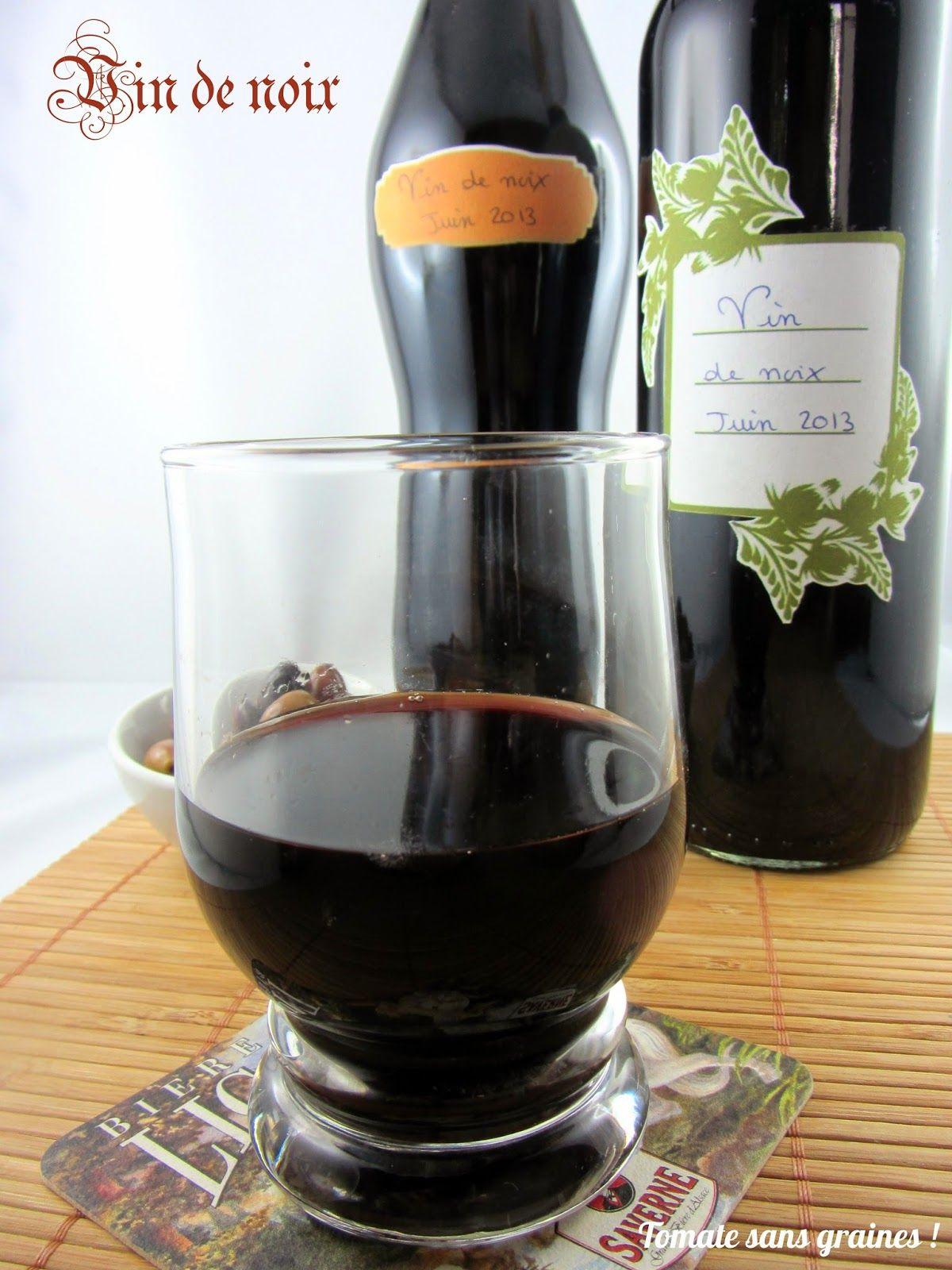 vin de noix maison pour environ 5 l de vin de noix 3 5 l de vin rouge pas de la piquette. Black Bedroom Furniture Sets. Home Design Ideas