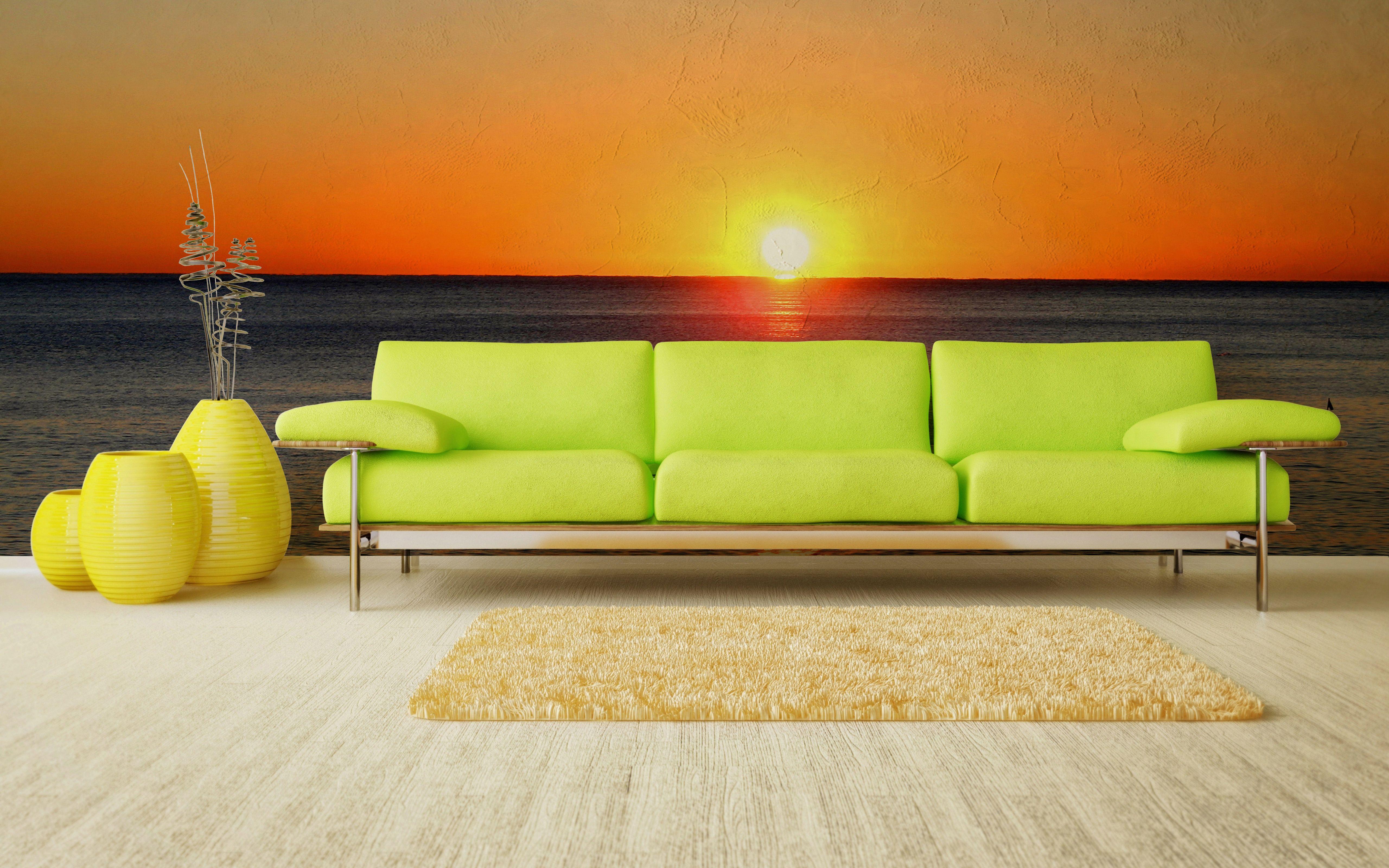 """Carta da parati Reparto Stampa modello """"Sunset view"""