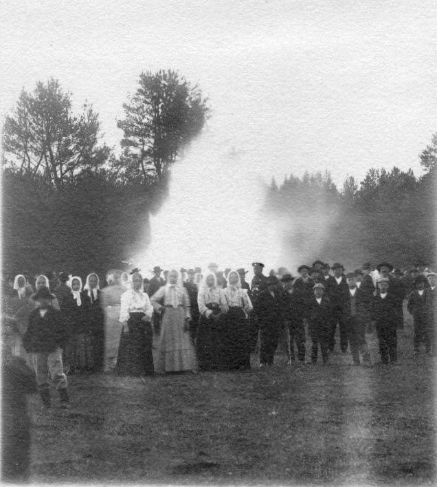 Juhannuskokolla Kuismankankaalla photo by Ville Tuhkanen/museovirasto