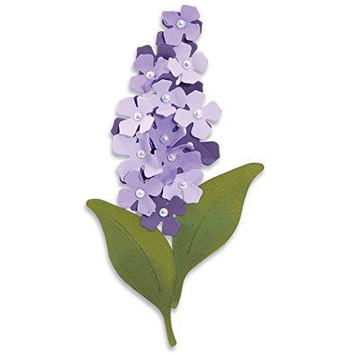 Sizzi By Originals Die Large Flower Build A Lilac Large Flowers