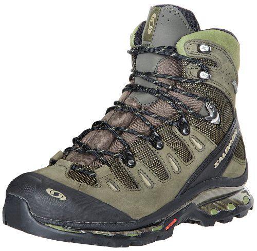 Salomon Men S Quest 4d Gtx Backpacking Boot Olive Dark Olive Black 9 5 M Us Http Authenticboots Com Salomo Backpacking Boots Mens Hiking Boots Hiking Boots