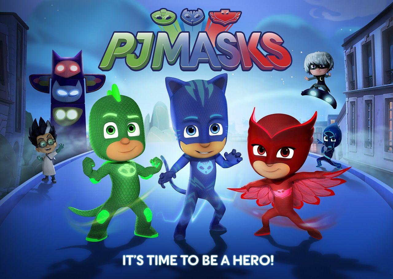 Pj masks coloring sheets printable - Heroic New Animated Series Pj Masks To Debut On Disney Junior