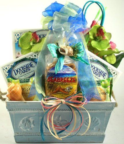 Just Beachy, Tropical Gift Baskets - Beach Gift Basket ...