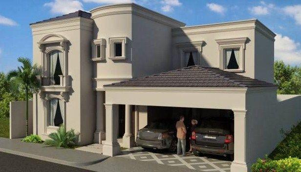 Fachadas de casas con molduras en las ventanas molduras - Molduras para ventanas exteriores ...