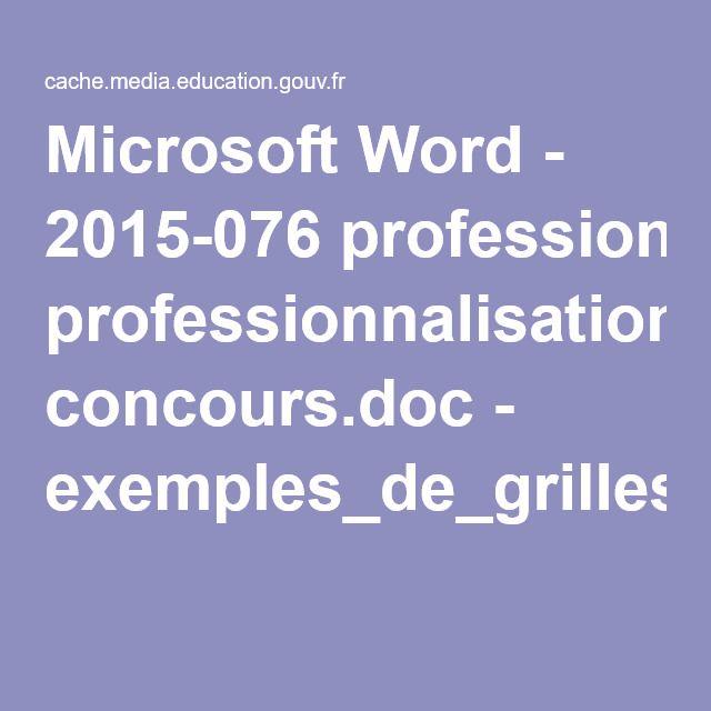 Microsoft Word - 2015-076 professionnalisation concours.doc - exemples_de_grilles_d_evaluation_premier_oral_crpe_531317.pdf