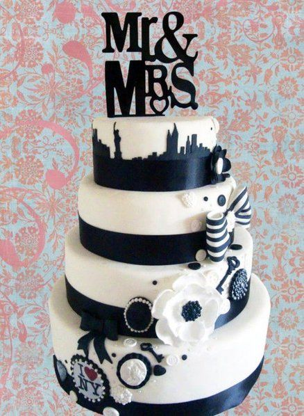 new york theme engagment cakes food cakes and party ideas