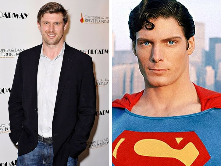 Image result for christopher reeve and son matthew