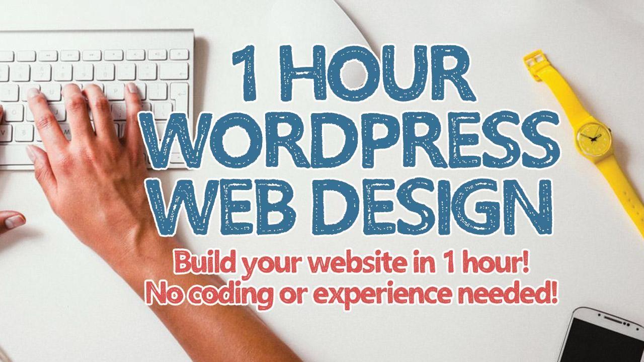 1 Hour WordPress Website Design Start to Finish! In this