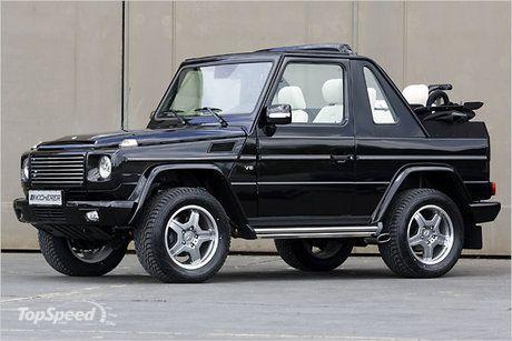 Mercedes Benz G Wagen 2 Doors And An Open Roof Super Rare Auto