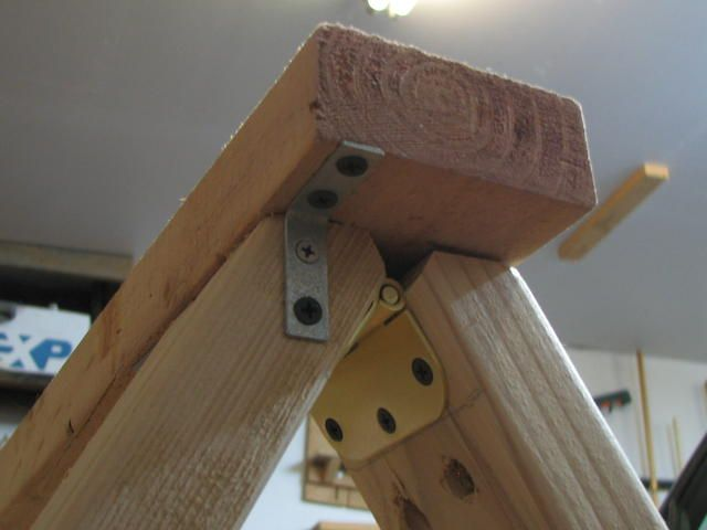 Folding Saw Horse Brackets More Saw Horse Woodworking