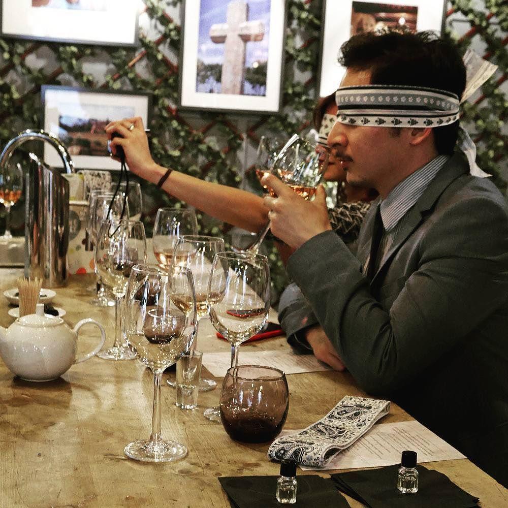 #winetasting #thefolly #London #Blindtasting #tasteofprovence