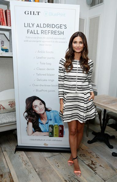 Lily Aldridge Photos: Lily Aldridge's Fall Refresh Collection Celebration