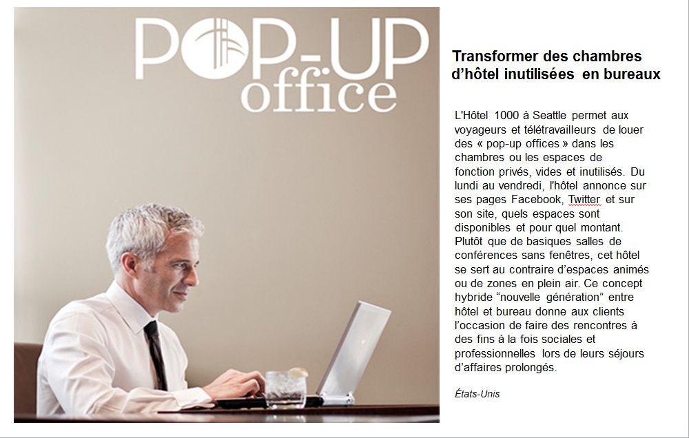 Transformer des chambres d'hôtels inutilisées en bureaux ...